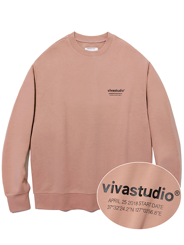 LOCATION CREWNECK JA [INDIE PINK]