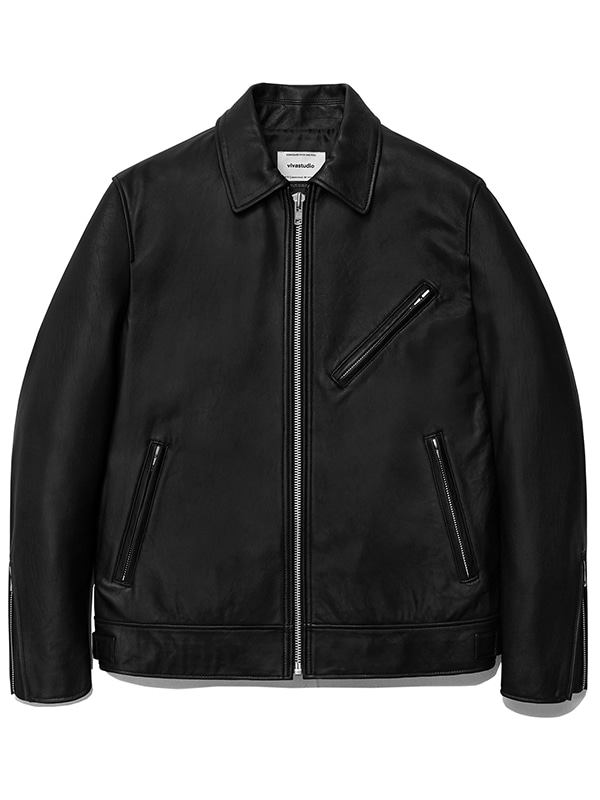 SINGLE RIDERS JACKET JS [BLACK]