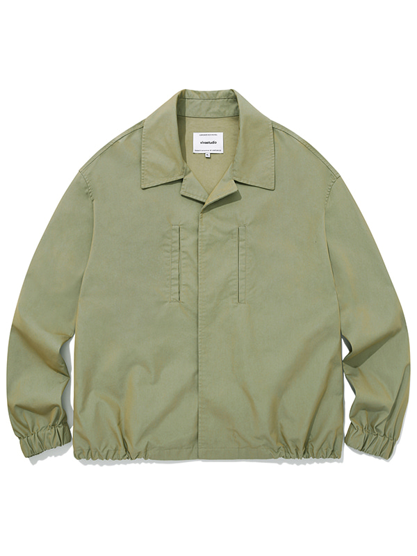 LIGHT SHIRT JACKET JA [BEIGE]