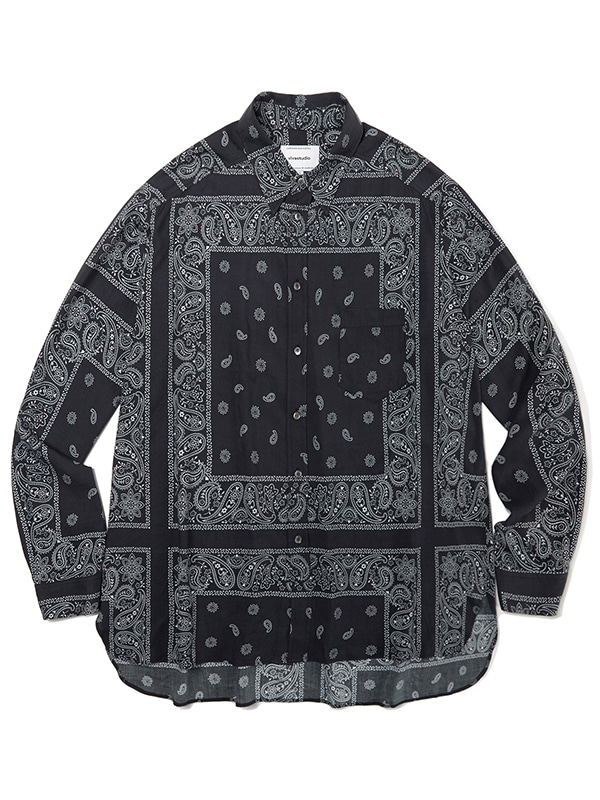 BANDANA SHIRTS JA [BLACK]