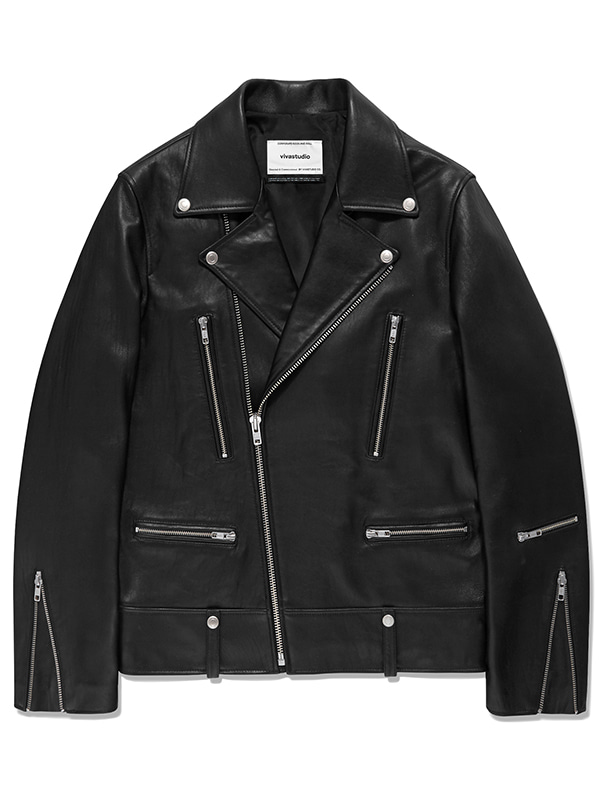 TERRY RIDERS JACKET JA [BLACK]