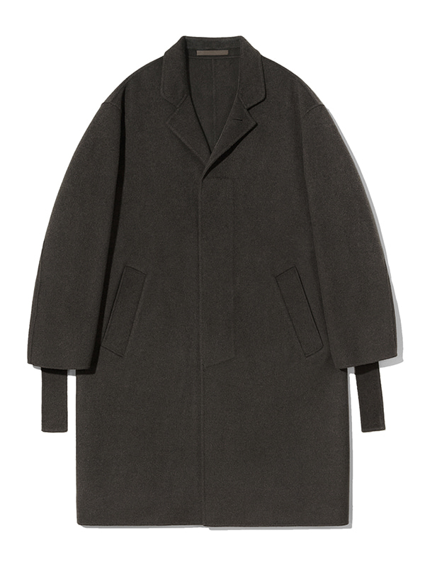 CASHMERE HANDMADE COAT JA [BROWN]
