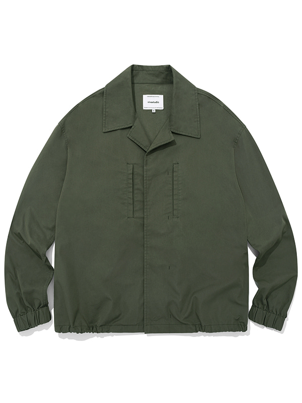 LIGHT SHIRT JACKET JA [KHAKI]