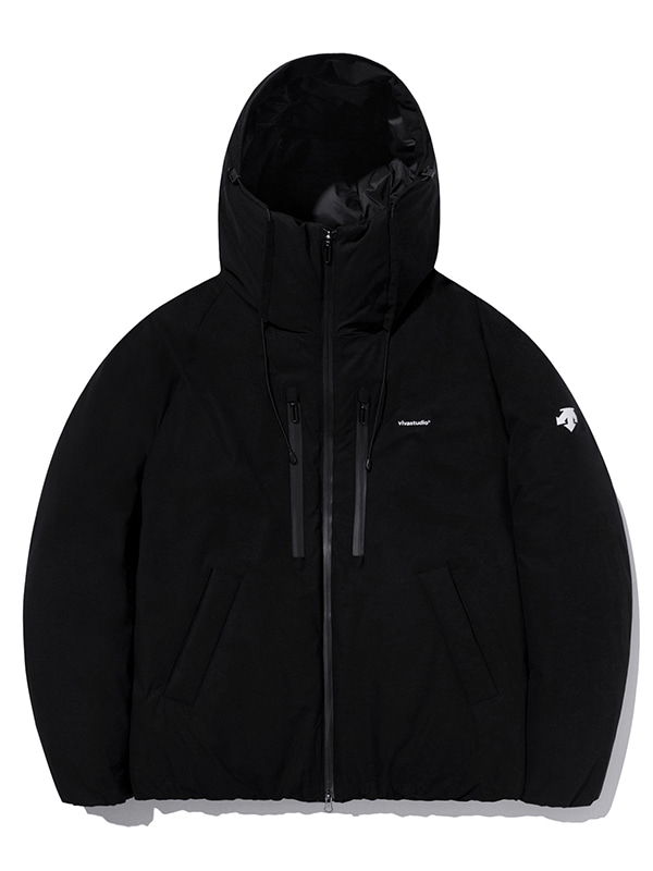 DESCENTE×VIVASTUDIO RETRO DOWN JACKET Ⅱ [BLACK]