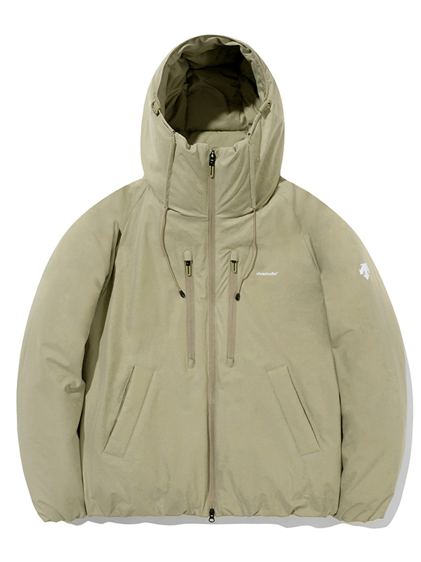 DESCENTE×VIVASTUDIO RETRO DOWN JACKET Ⅱ [BEIGE]