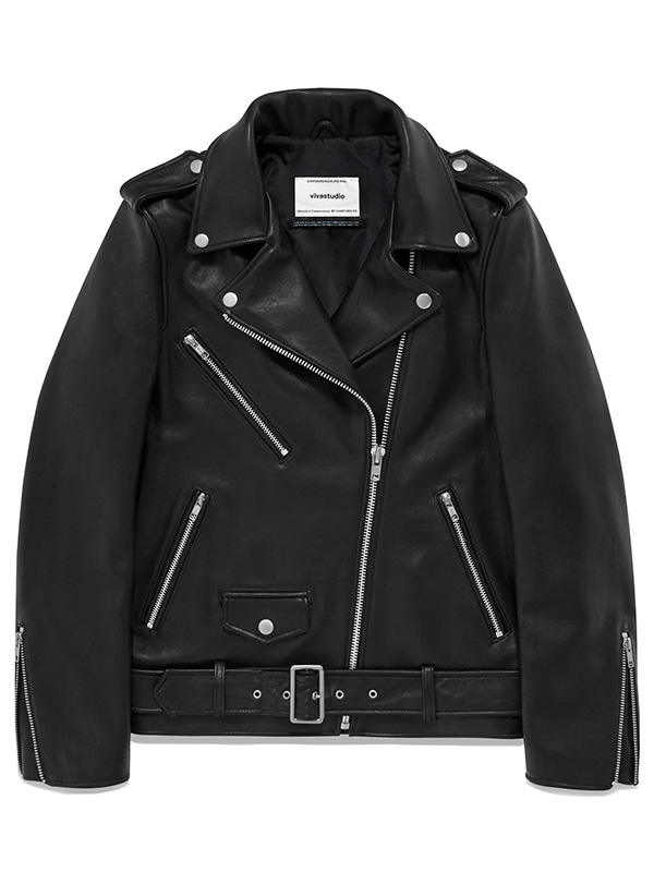 BONNI RIDERS JACKET JA [BLACK]