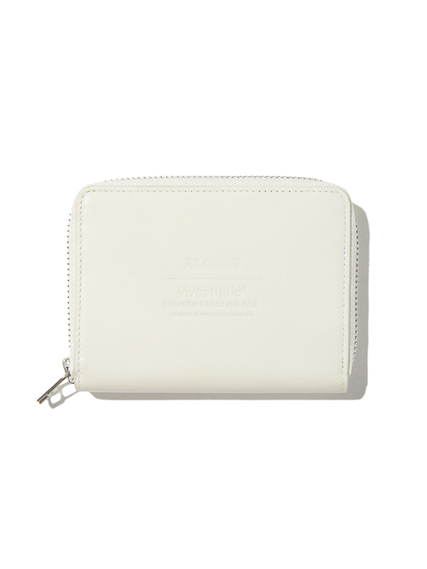 XLARGE×VIVASTUDIO LEATHER UTILITY POUCH [IVORY]