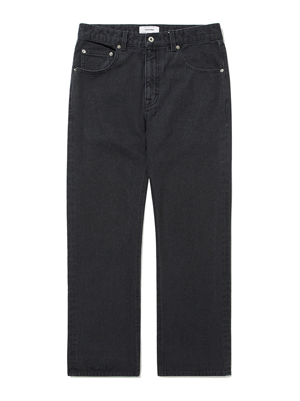 B-CUT JEAN JA [DYED BLACK]