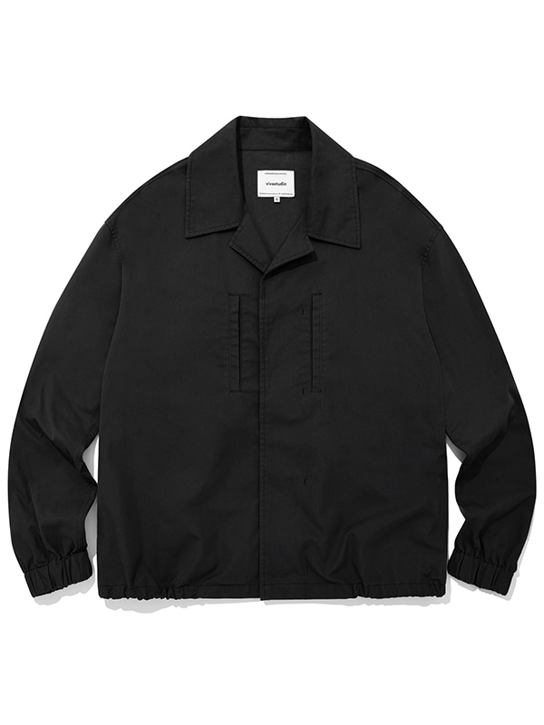 LIGHT SHIRT JACKET JA [BLACK]