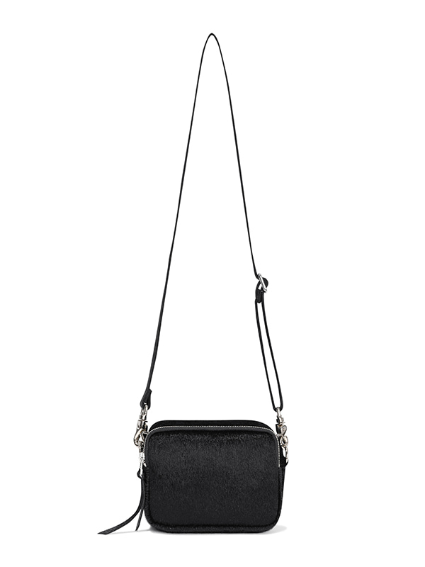 CALF LEATHER BAG JA [BLACK]