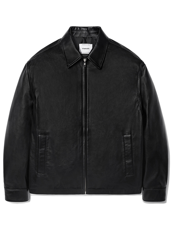 OVER FIT SINGLE RIDERS JACKET KS [BLACK]
