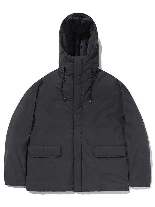 GOOSE DOWN HOODED PARKA JA [NAVY]
