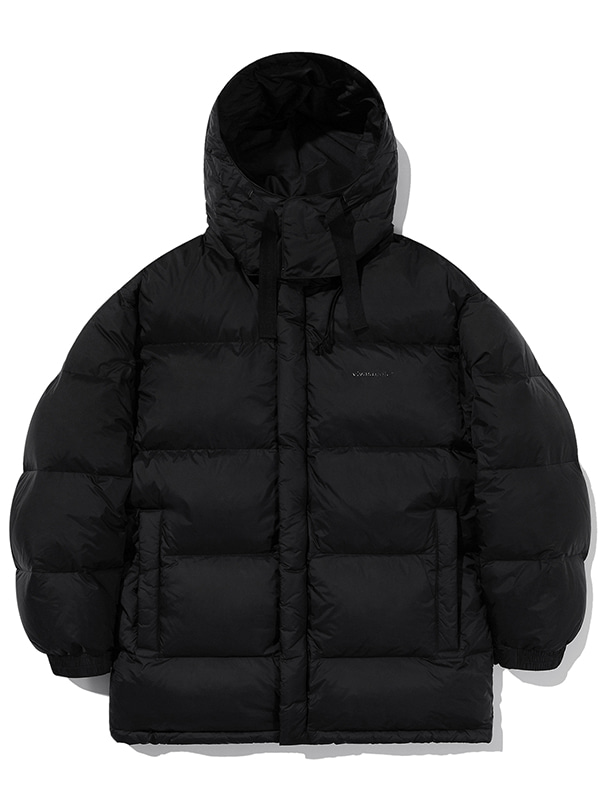 GOOSE DOWN MIDDLE LENGTH PARKA JA [BLACK]