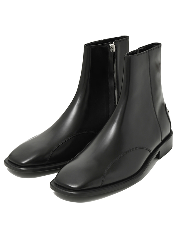 SQUARE TOE CHELSEA BOOTS JA [COW LEATHER]