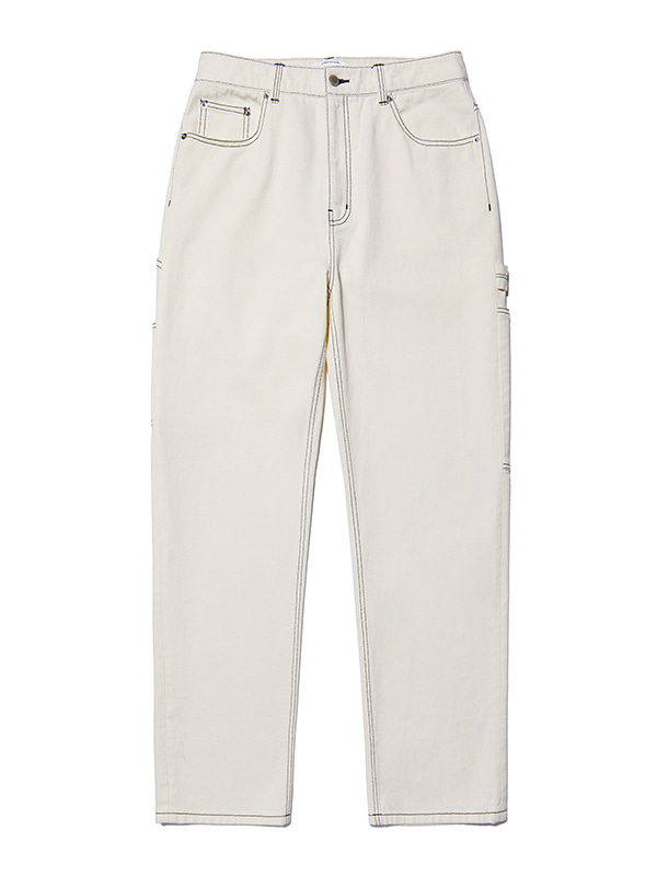 CARPENTER PANTS JA [IVORY]