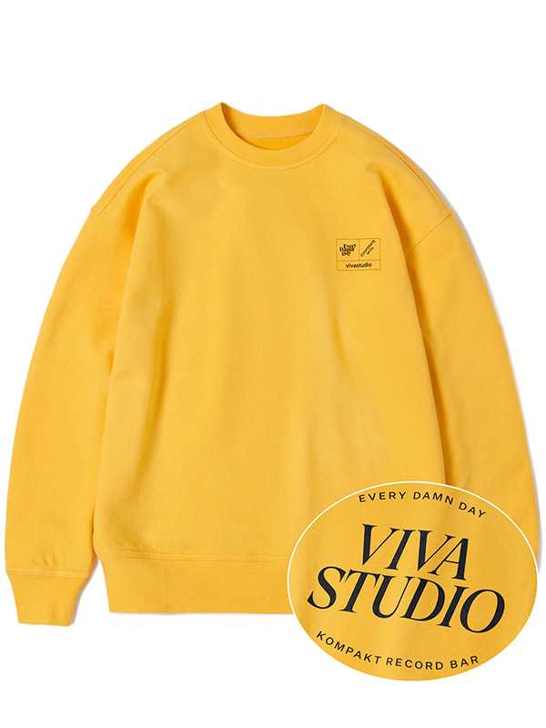 KOMPAKT BASIC CREWNECK JA [YELLOW]