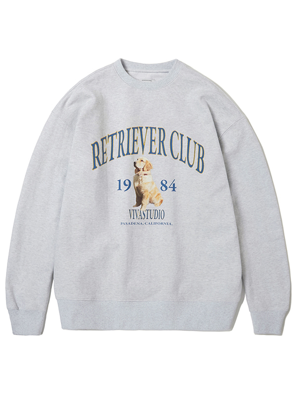 RETRIEVER CREWNECK KS [MELANGE GREY]