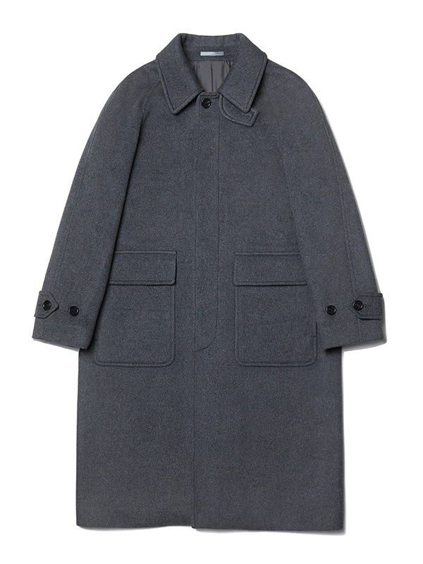 BALMACAAN COAT JA [GREY]