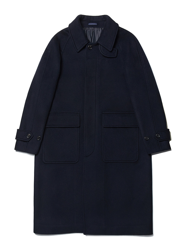 BALMACAAN COAT JA [NAVY]