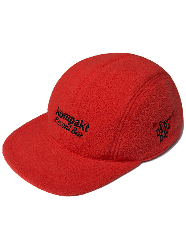KOMPAKT FLEECE CAP JA [RED]