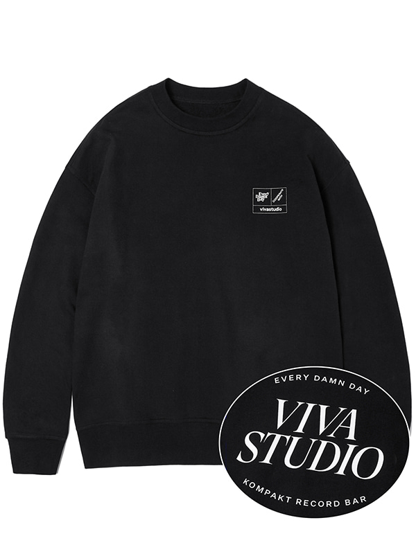 KOMPAKT BASIC CREWNECK JA [BLACK]