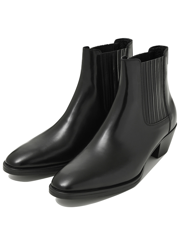 ANKLE BOOTS JA [COW LEATHER]