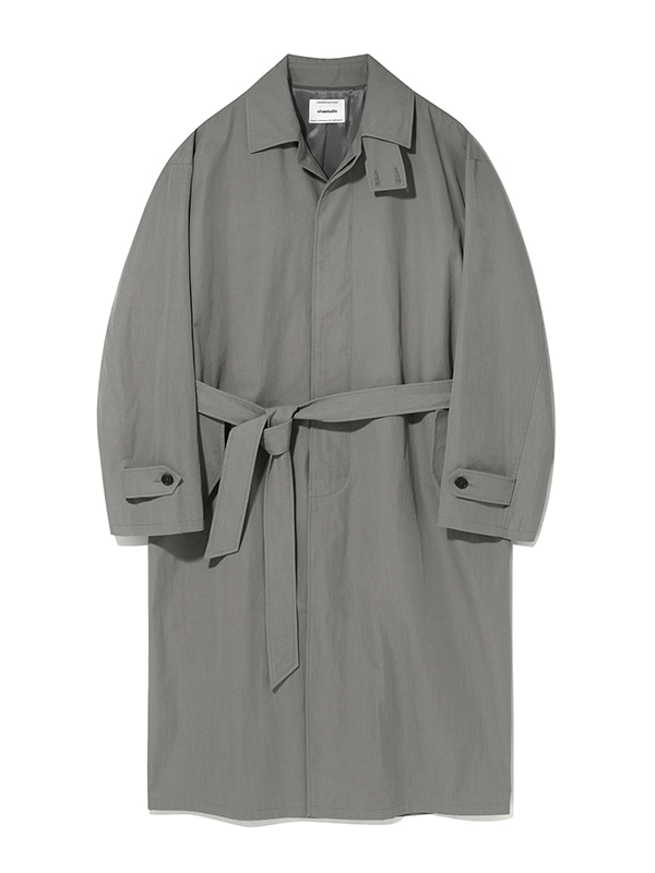 LIGHT BALMACAAN COAT KS [GREY BEIGE]