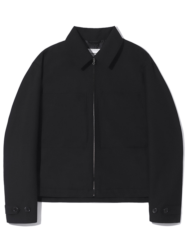 CROP JACKET KS [BLACK]