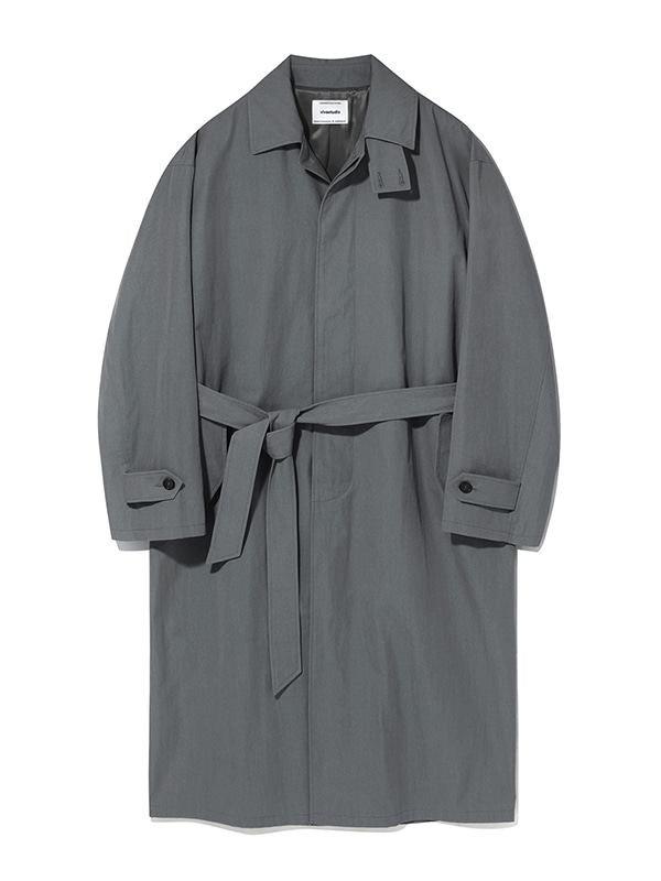 LIGHT BALMACAAN COAT KS [DARK GREY]