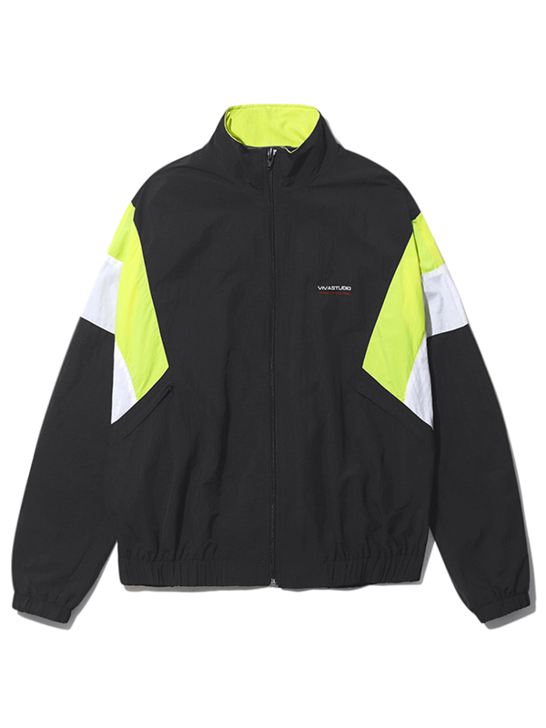 TRACK JACKET KS [BLACK]