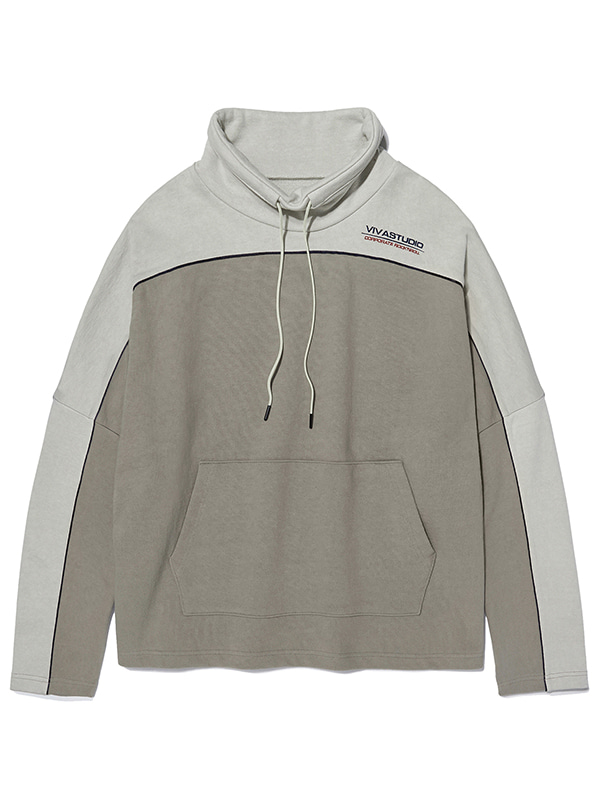 SPORT LOGO TURTLENECK KS [BEIGE]