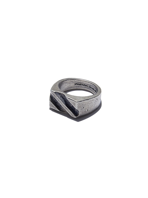 PAVED RING KS [SILVER]