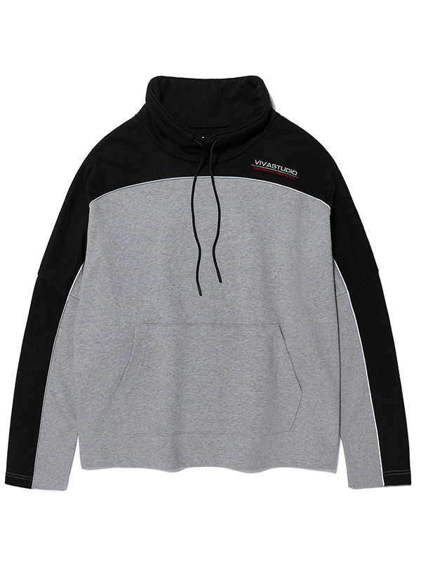SPORT LOGO TURTLENECK KS [BLACK]