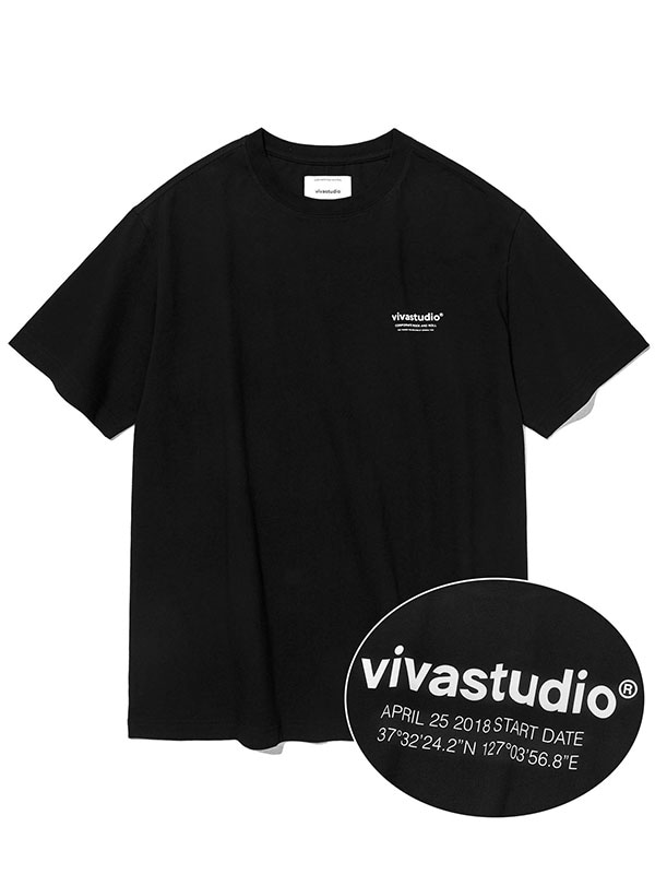 LOCATION SHORT SLEEVE KS [BLACK]