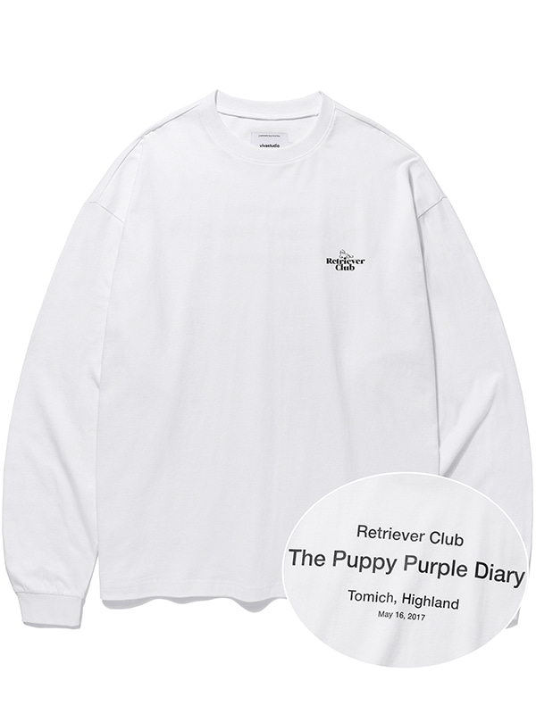 RETRIEVER CLUB L/S TEE KS [WHITE]
