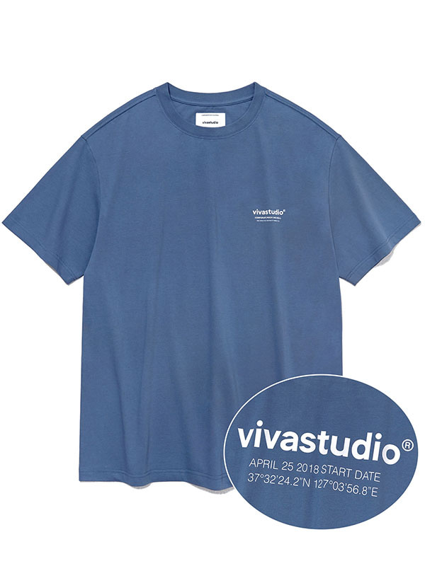 LOCATION SHORT SLEEVE KS [INDIGO BLUE]