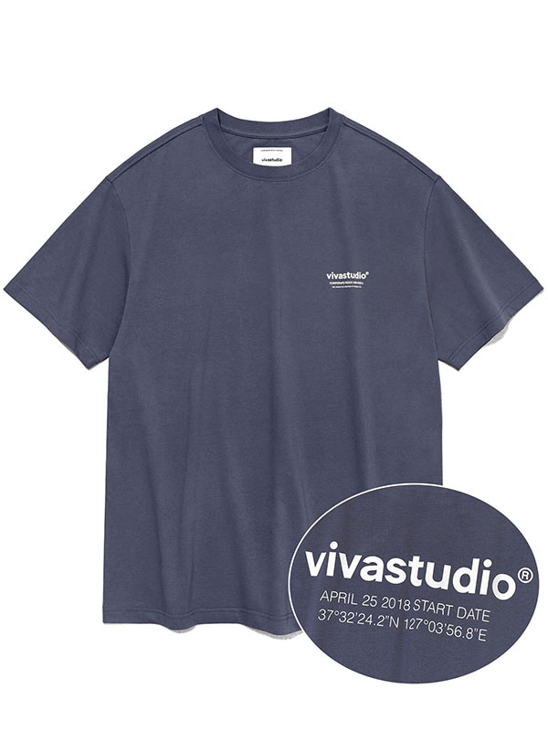 LOCATION SHORT SLEEVE KS [BLUE GREY]