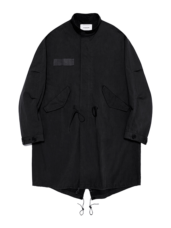 LIGHT FISHITAIL PARKA KS [BLACK]
