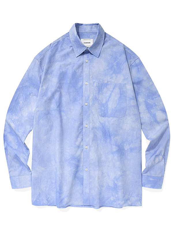 DYED SHIRTS KS [BLUE]