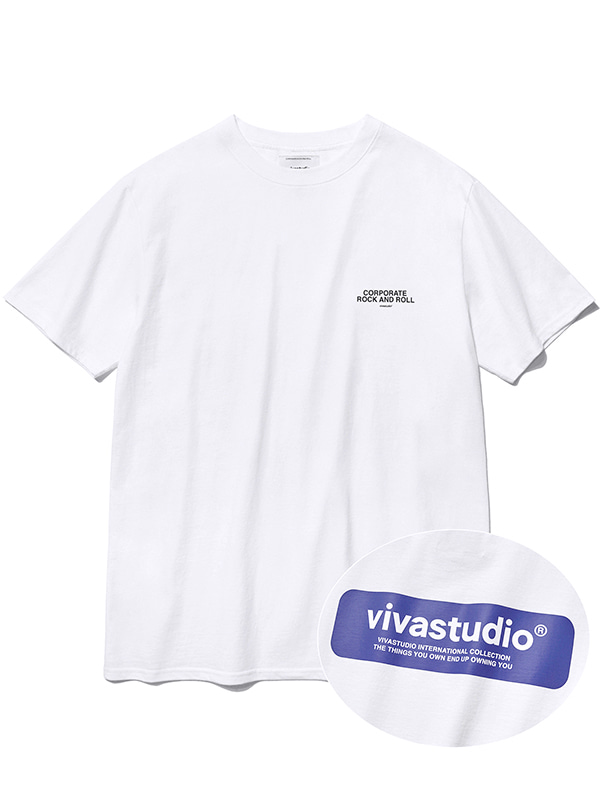 BOX LOGO SHORT SLEEVE KS [WHITE]