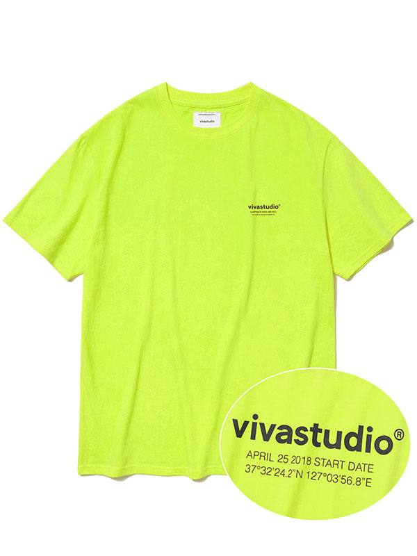 LOCATION SHORT SLEEVE KS [LIME YELLOW]