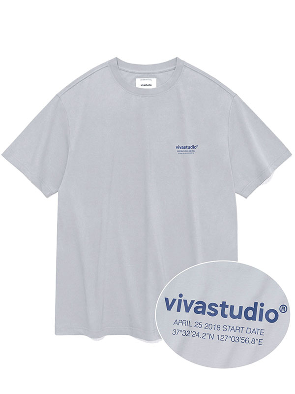 LOCATION SHORT SLEEVE KS [LIGHT GREY]