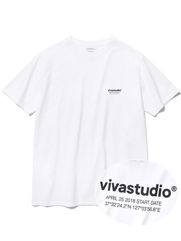 LOCATION SHORT SLEEVE KS [WHITE]