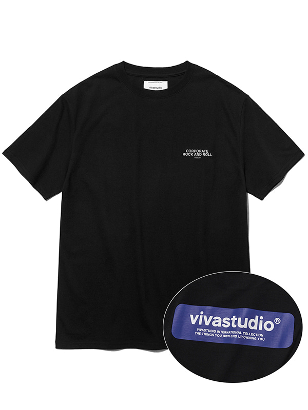 BOX LOGO SHORT SLEEVE KS [BLACK]
