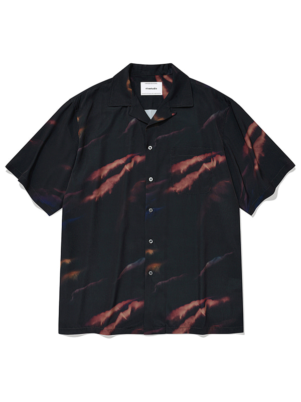AURORA SHIRTS KS [BLACK]