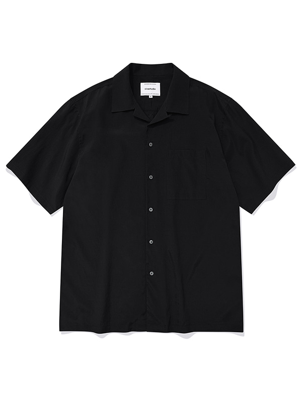 MINIMAL SUMMER SHIRTS KS [BLACK]