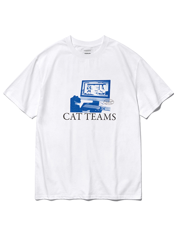 SOCIAL CAT TEAMS SHORT SLEEVE KS [WHITE]