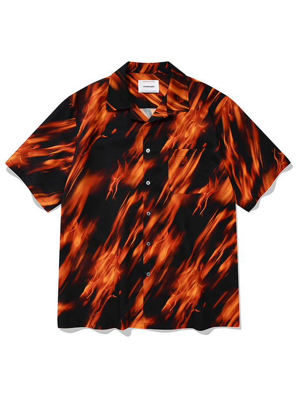 FLAME SHIRTS KS [RED]