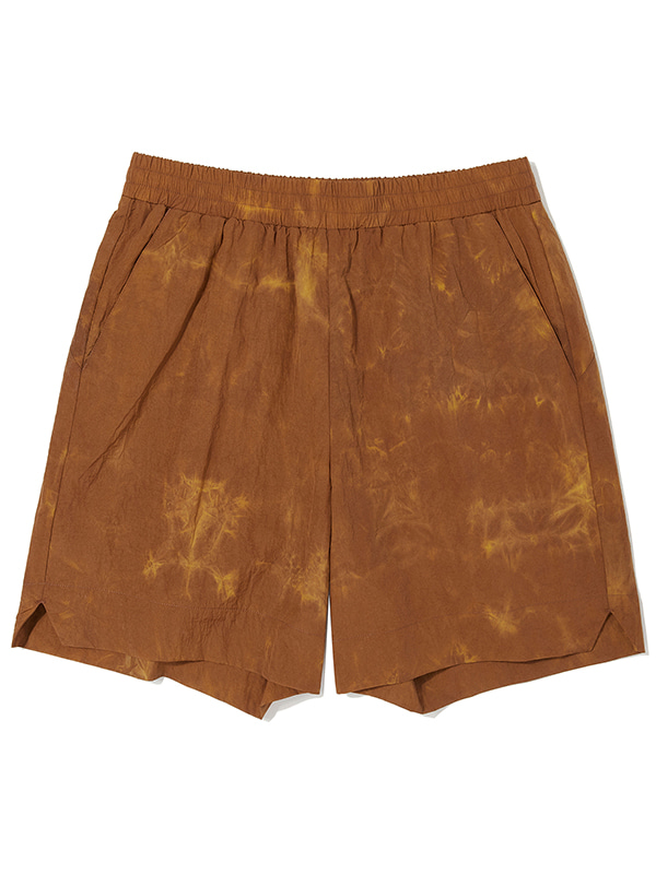 DYED EASY SHORTS KS [ORANGE]