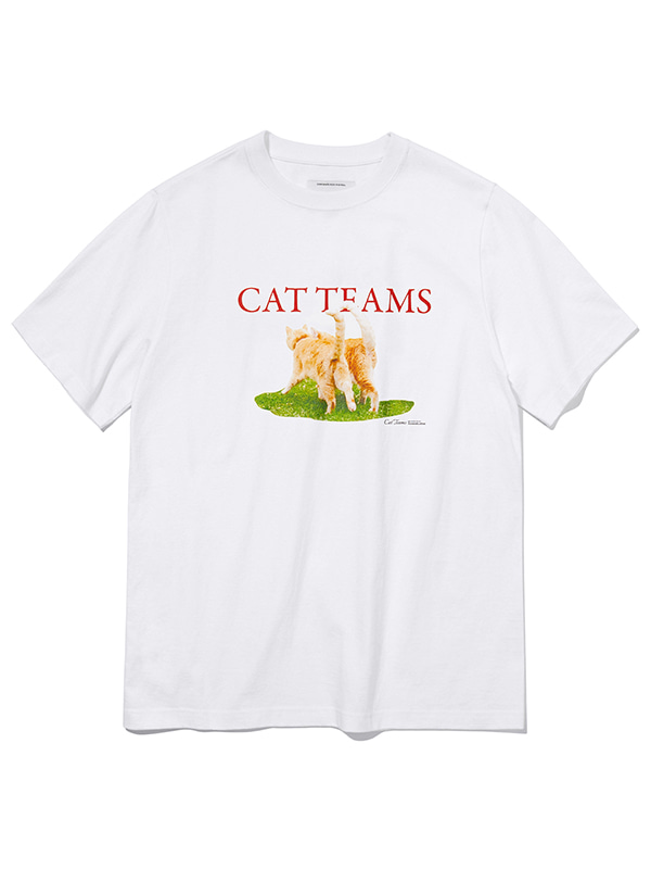 PARK CAT TEAMS SHORT SLEEVE KS [WHITE]